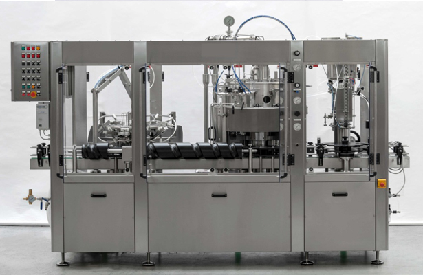 automatic countepressure monoblock for sparkling products