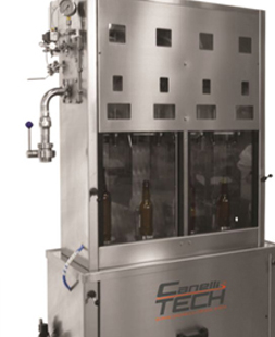 SEMI AUTOMATIC COUNTERPRESSURE  FILLER 4 VALVES