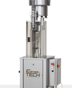 SEMIAUTOMATIC CROWN CAPPING MACHINE